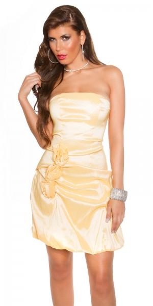 Sexy Party BandeauCocktail-Kleid mit Rosen