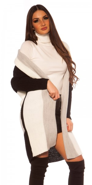 Trendy KouCla XXL Strickjacke