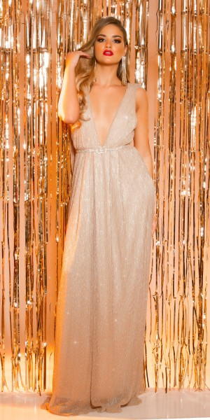 Sexy KouCla Red Carpet GreekGoddessLook Abendkleid