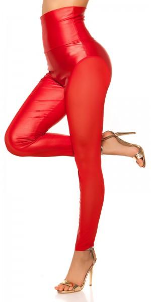 Sexy KouCla Highwaist Leggings mit Einblick