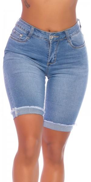 Sexy Highwaist Capri Jeans