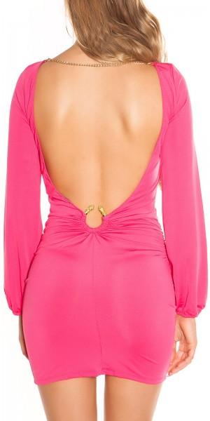Sexy Party-Minikleid mit WOW-Rückenansicht