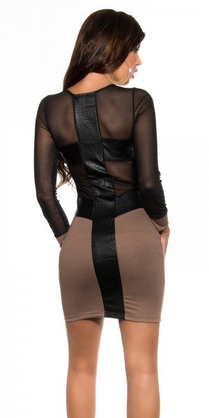 Sexy KouCla Party-Kleid mit sexy Rückeneinblick