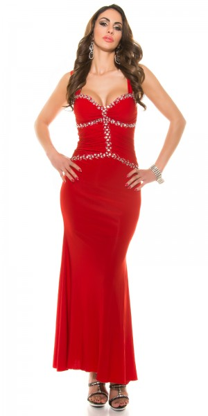 Red-Carpet-Look! Sexy Koucla Goddess-Abendkleid