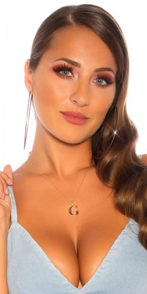 Sexy Buchstaben Halskette G