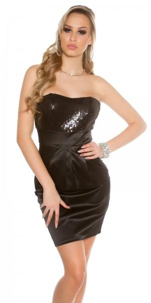 Sexy Bandeau Cocktail-Kleid